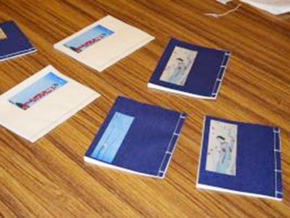 和綴じノート作り